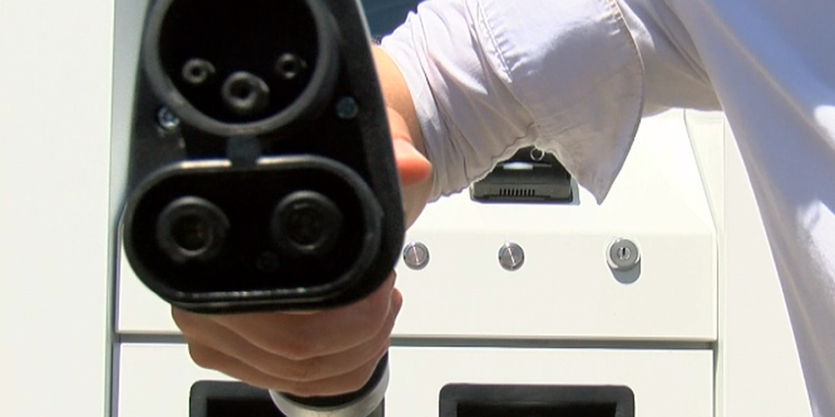 New charging stations for electric cars in Sulphur