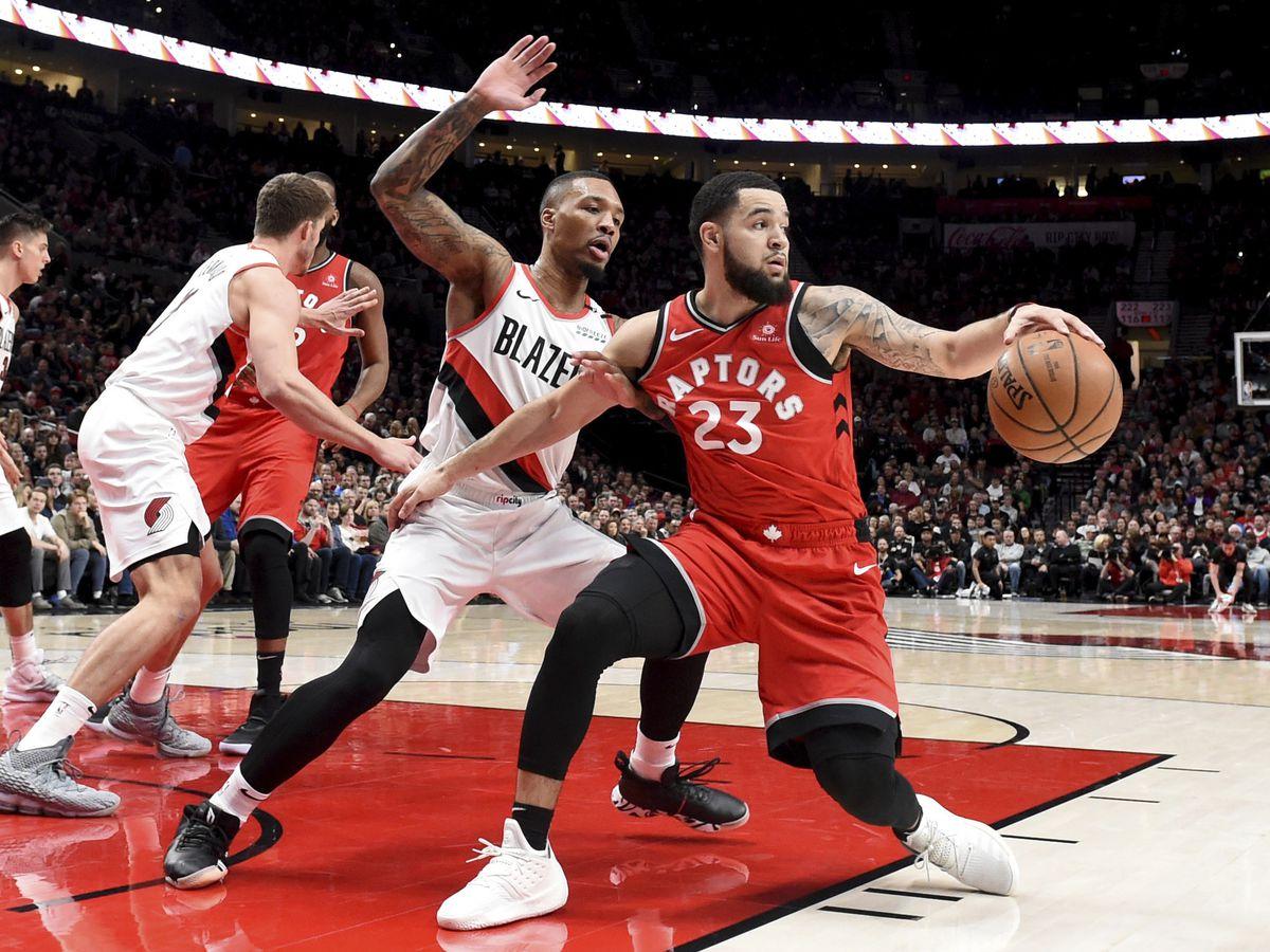 Lillard scores 24, Blazers hold off NBA-best Raptors 128-122