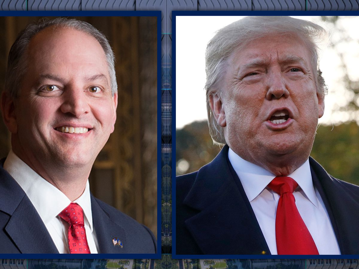 President Trump congratulates Gov. Edwards on reelection in private phone call