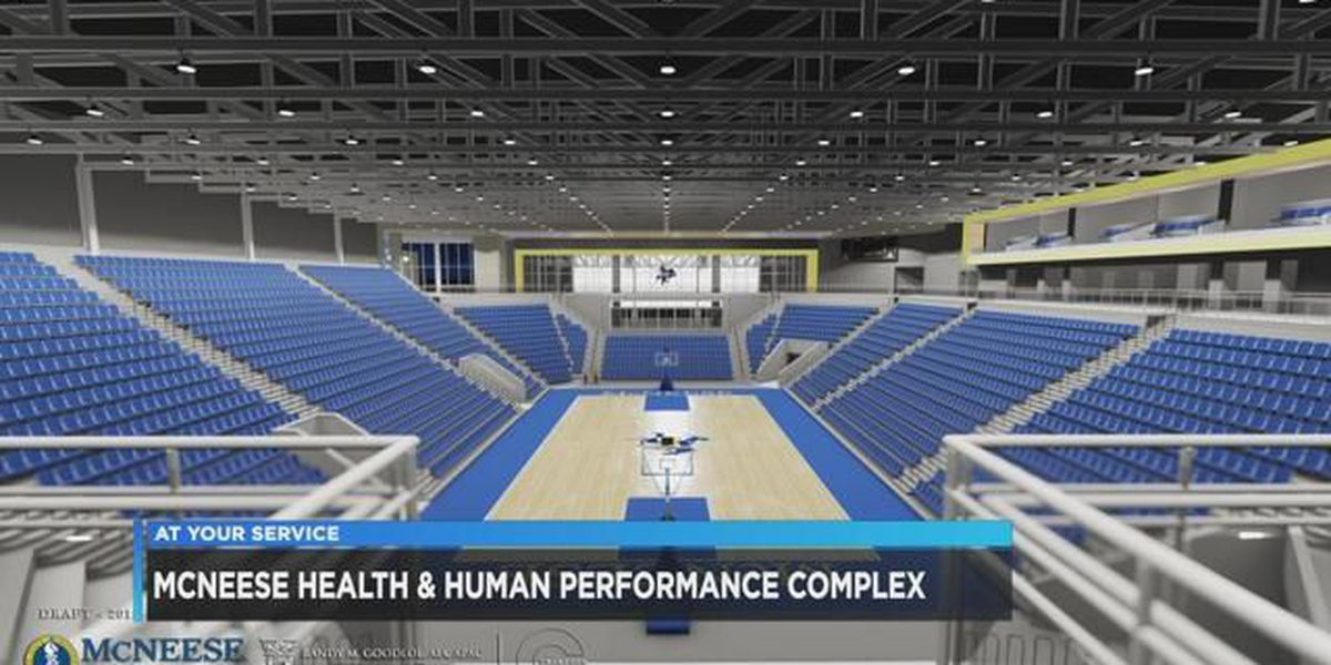 New sports arena at McNeese set to open this fall