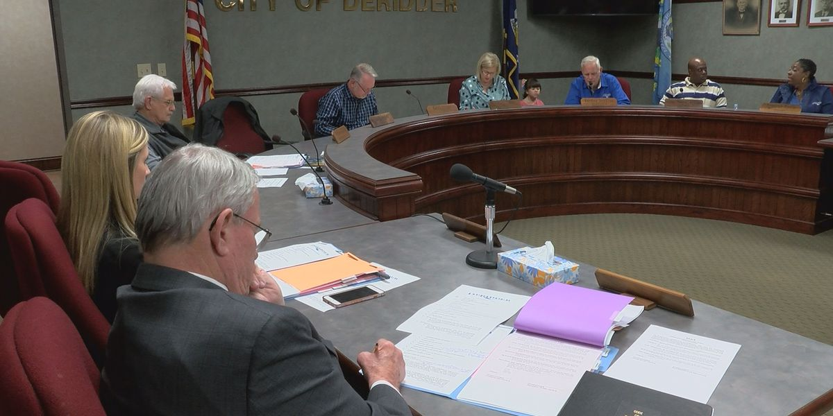 Deridder City Council votes to fill vacant at-large seat
