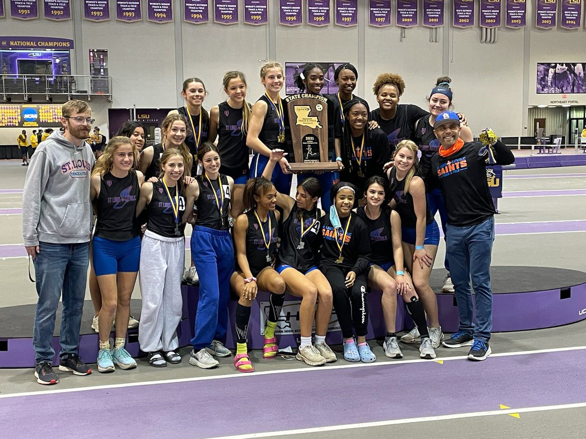 St. Louis claims back-to-back Div. II team titles at the 2021 LHSAA Indoor Track & Field State Meet