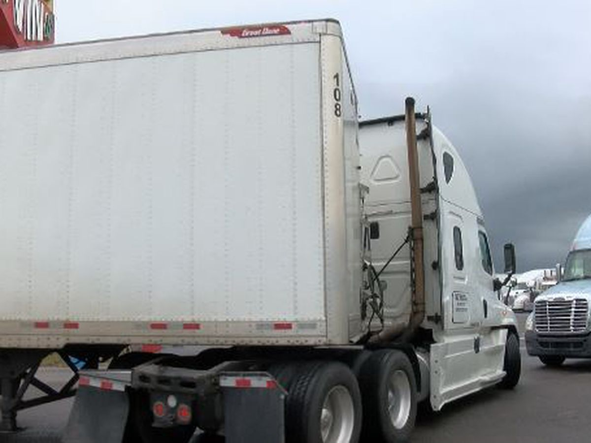 I-10 westbound closure means heavy truck traffic at Exit 4