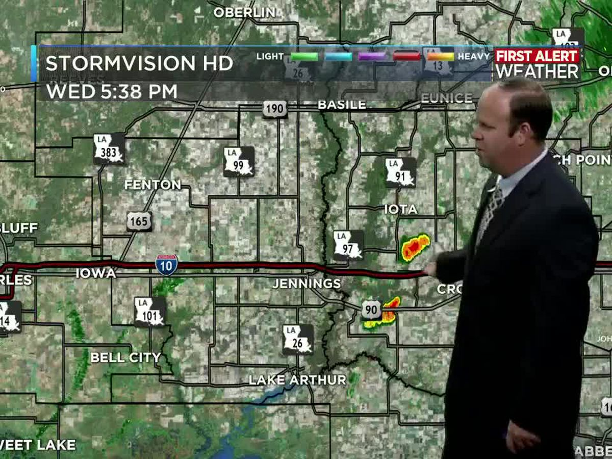 First Alert Forecast: Daily showers continue with higher rain chances this weekend