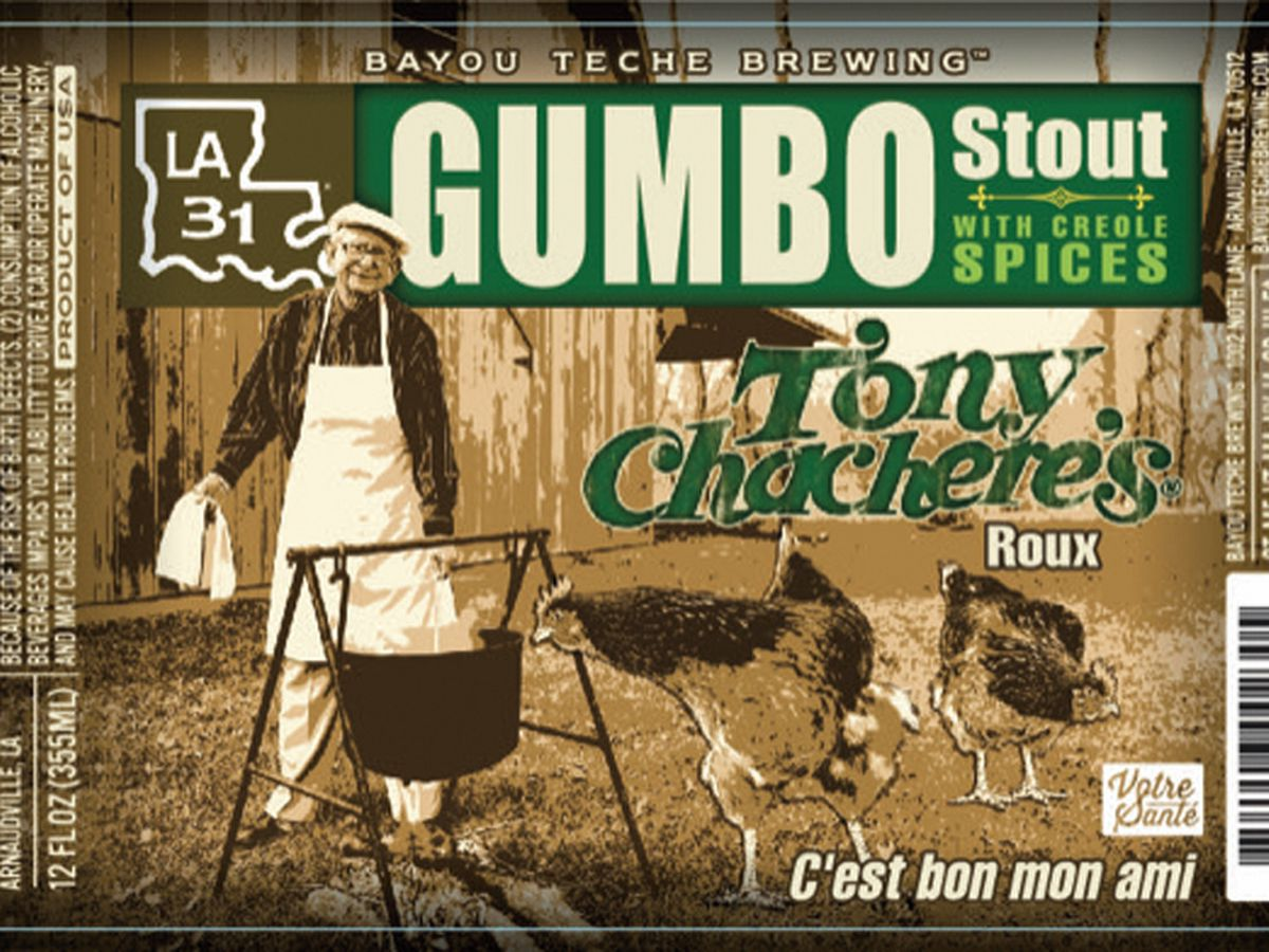 Tony Chachere's gumbo beer has hit the shelves