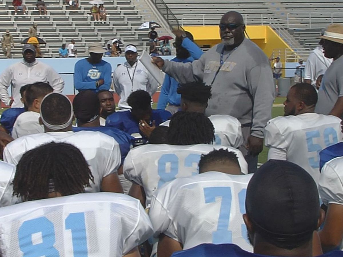 Southern defense creates turnovers, puts pressure on QBs in second scrimmage
