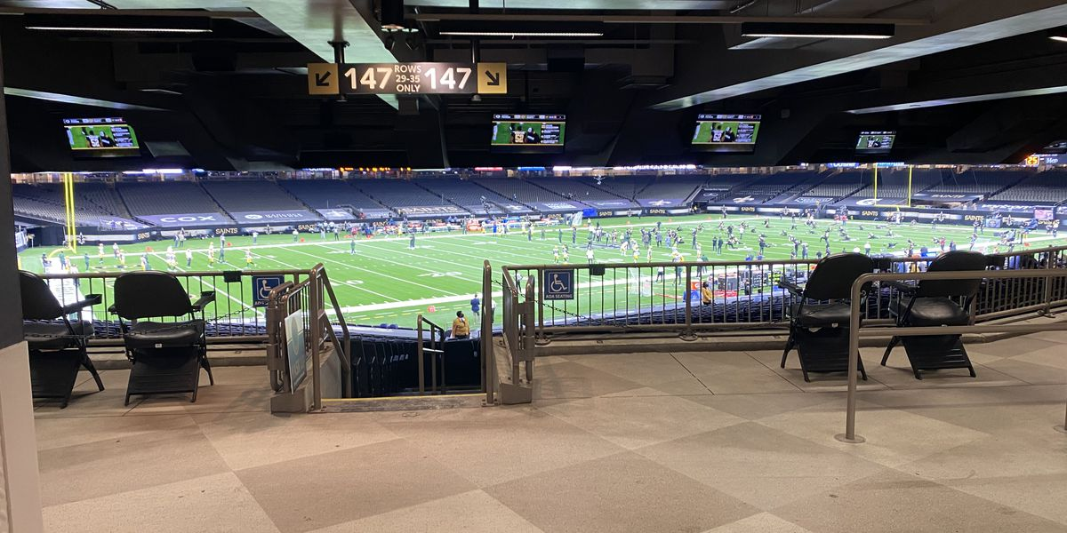 Mayor Cantrell says no to Saints' request to host fans in the Superdome this weekend