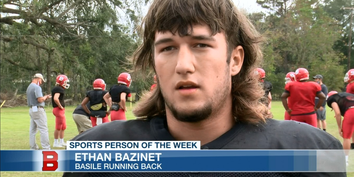 Sports Person of the Week - Ethan Bazinet