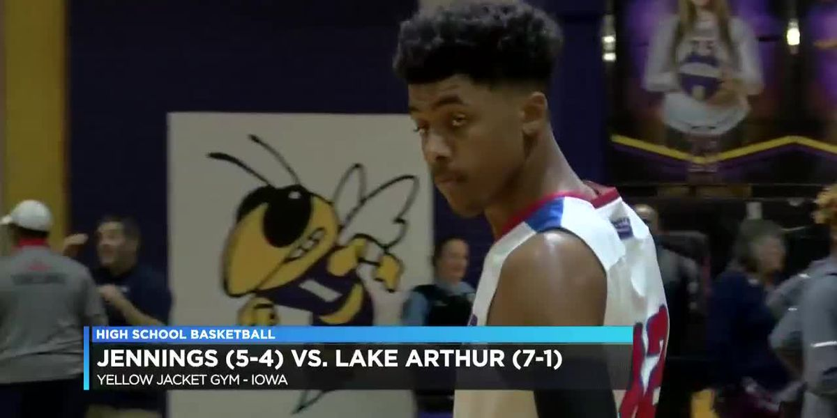 Lake Arthur downs Jennings at Iowa basketball tournament