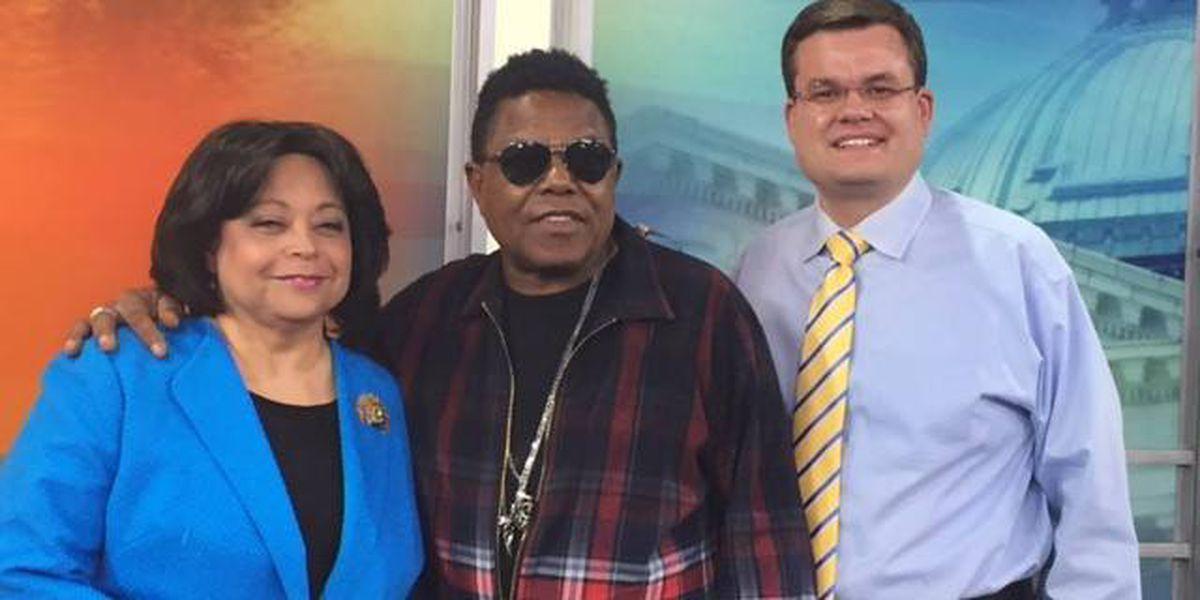 WATCH: Tito Jackson, of Jackson 5 fame, performs single 'Get It Baby' on KPLC set