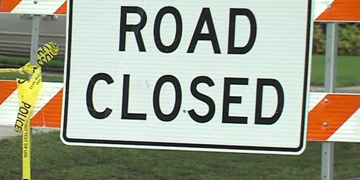 Road closures in SWLA