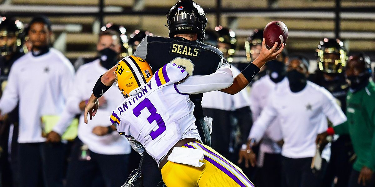 LSU senior DE Andre Anthony returning for another season