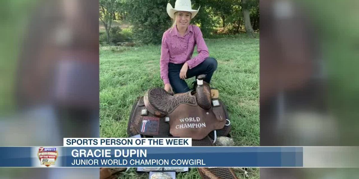 Sports Person of the Week - Gracie Dupin