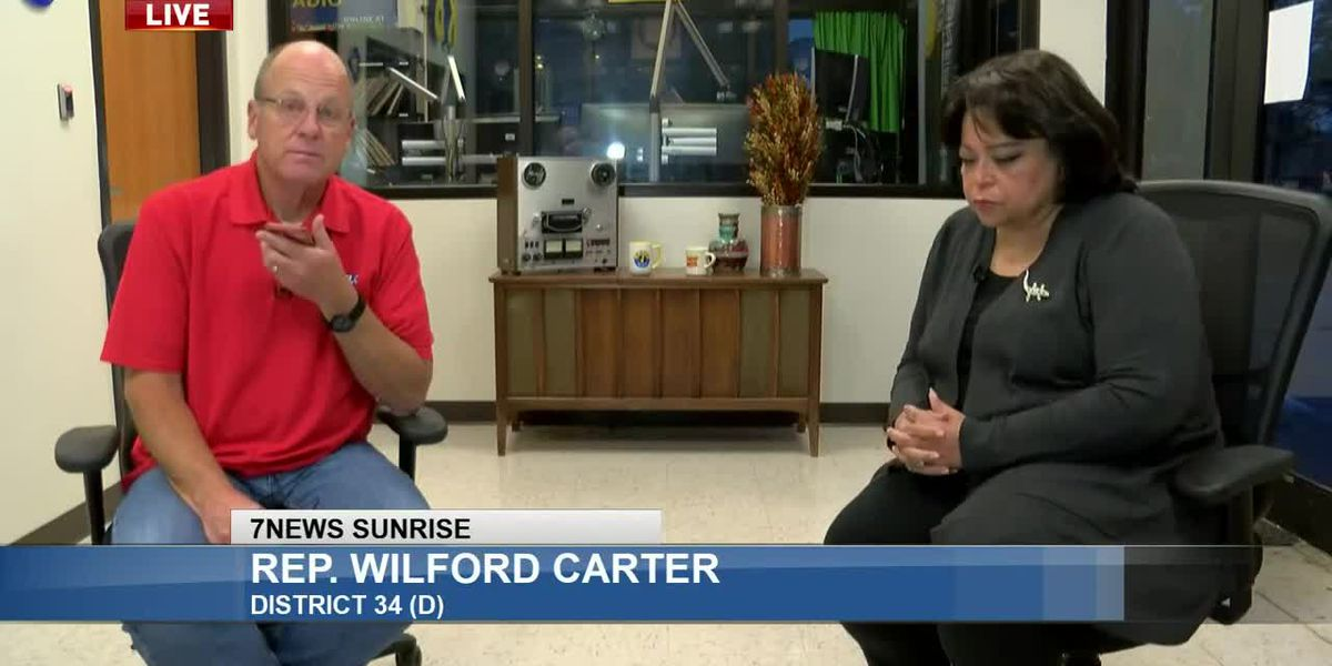 Sunrise Interview: LA Rep. Wilford Carter - Sept. 22, 2020