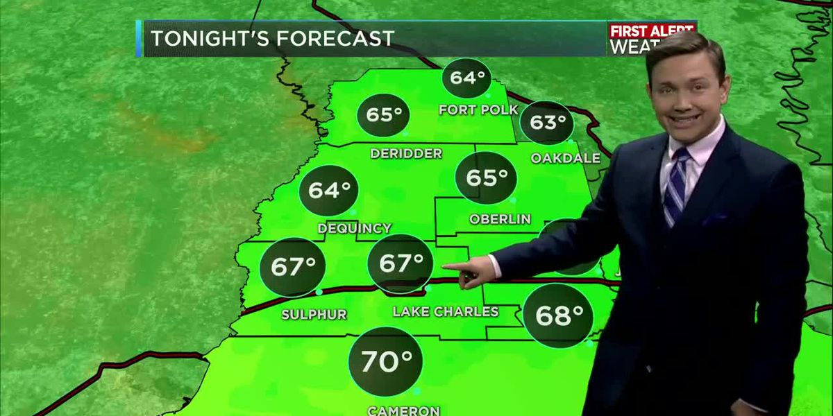 First Alert Forecast: Cold front arrives and brings cool, less-humid air this week