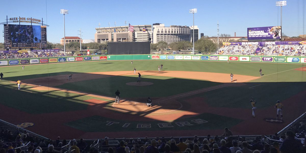 No. 1 LSU baseball survives 4-3 against Bryant in Game 3