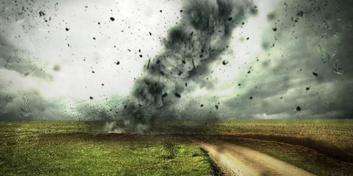 What should you do during a tornado?