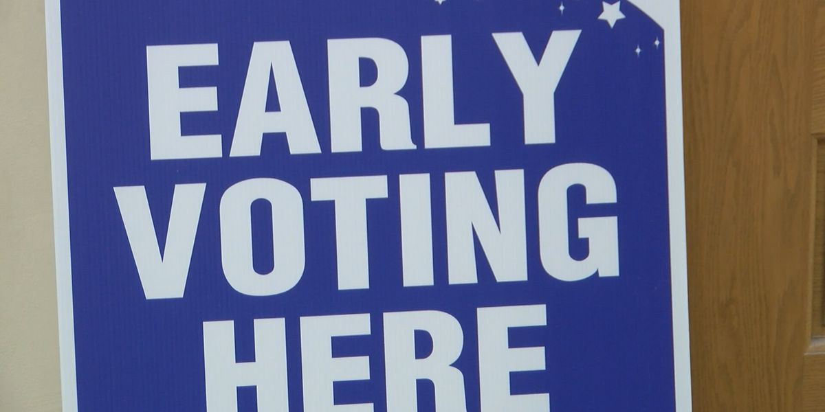 Louisiana early voter turnout continues to break records