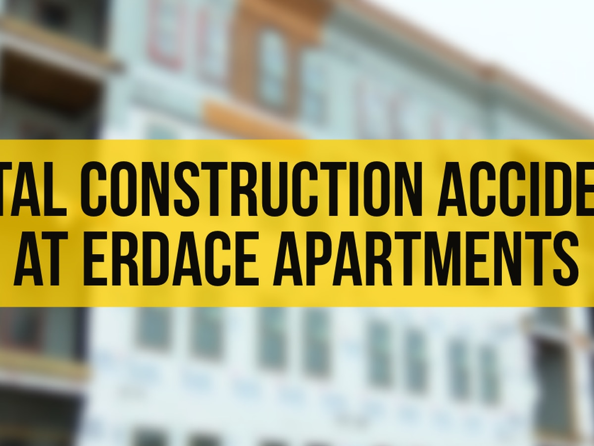 Worker dies from fall at Erdace Apartments