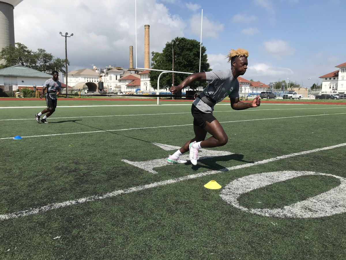 Newman WR AJ Johnson catches LSU's eye with some big-time performances