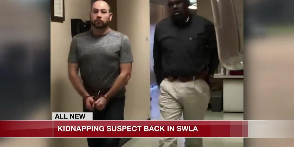 Kidnapping suspect returned to Beauregard Parish
