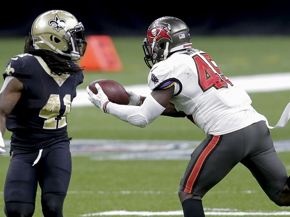 Saints self-destruct in 30-20 loss to Bucs in NFC Divisional