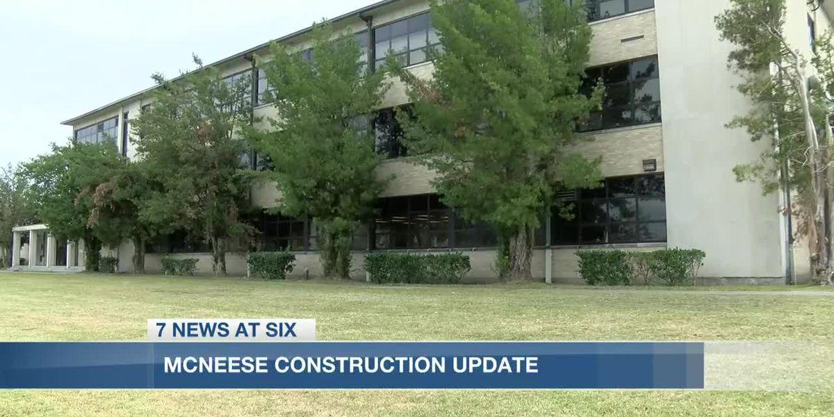 McNeese State University makes progress on construction