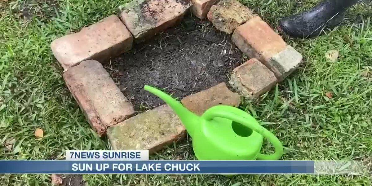 Sun Up for Lake Chuck