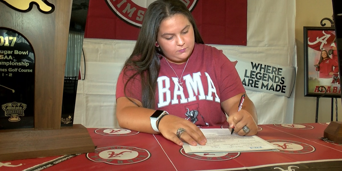 Lacassine's Whittington signs with Alabama