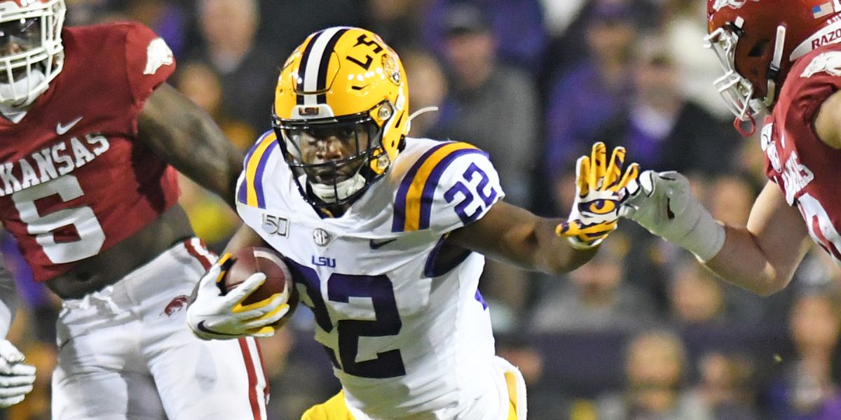 LSU OC Steve Ensminger thinks Tigers 'will have' RB Clyde Edwards-Helaire