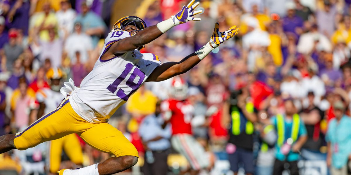 Is LSU sporting purple helmets against Miss. State?