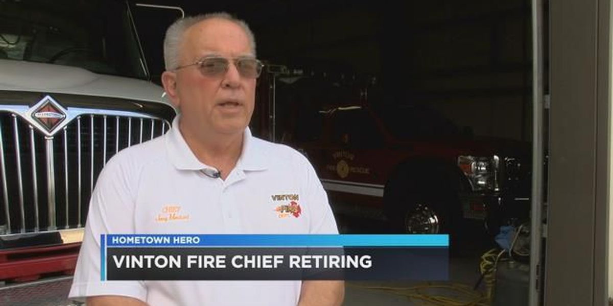 Vinton fire chief retires after 50 years of service