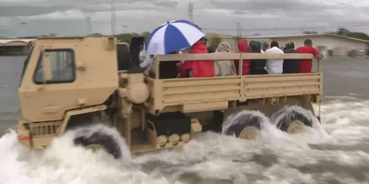 Donations for Texas flood victims being accepted in Lake Charles, Jennings & Lake Arthur