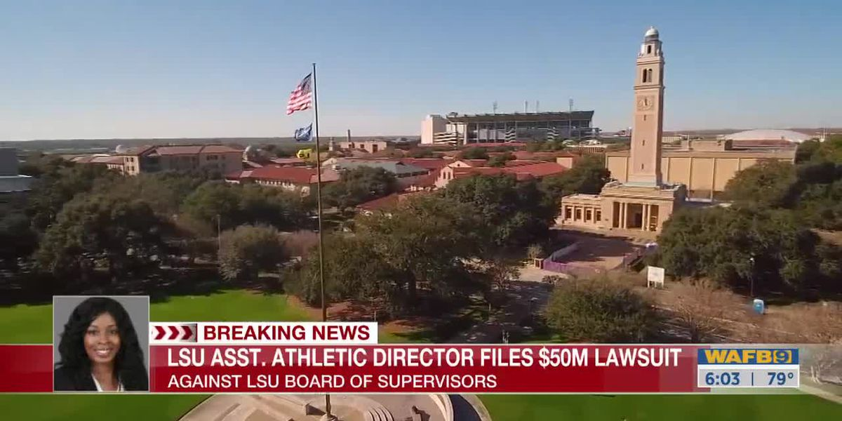 LSU's associate athletic director of football recruiting intends to file $50 million lawsuit, attorneys say