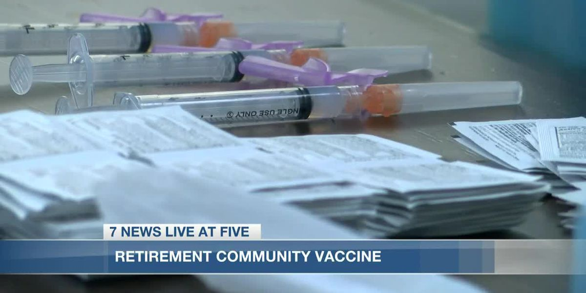 Verandah Retirement Community receives first round of Covid vaccine