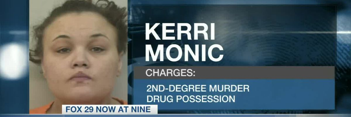 32-year-old Kerri Monic arrested on 2nd degree murder charges after her boyfriend is found dead