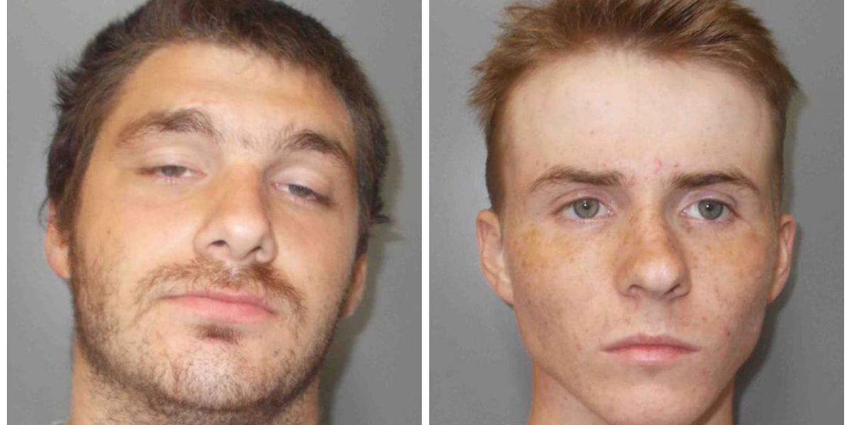 Two arrested in connection with vehicle burglaries at Jennings business