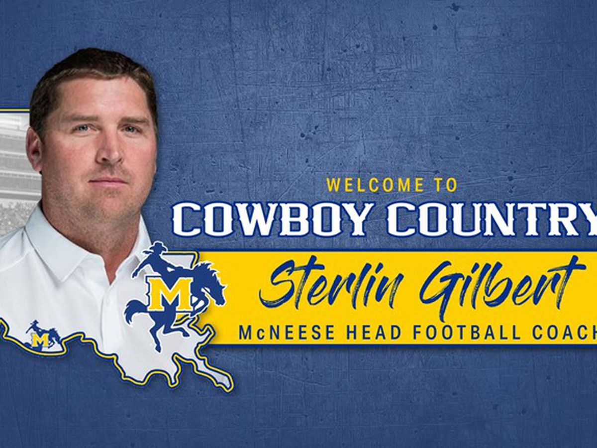McNeese introduces new football coach Sterlin Gilbert