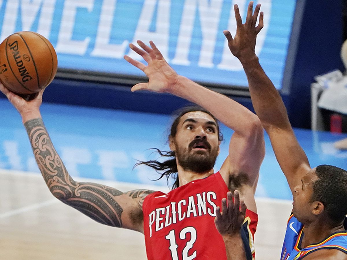 7 Pelicans score in double figures in 113-80 win over Oklahoma City