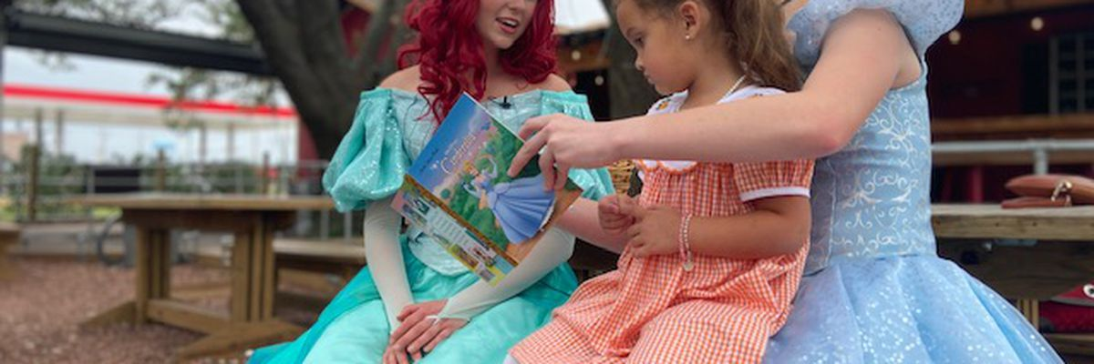 Local company holds princess parties for kids who lost homes due to Hurricanes Laura & Delta