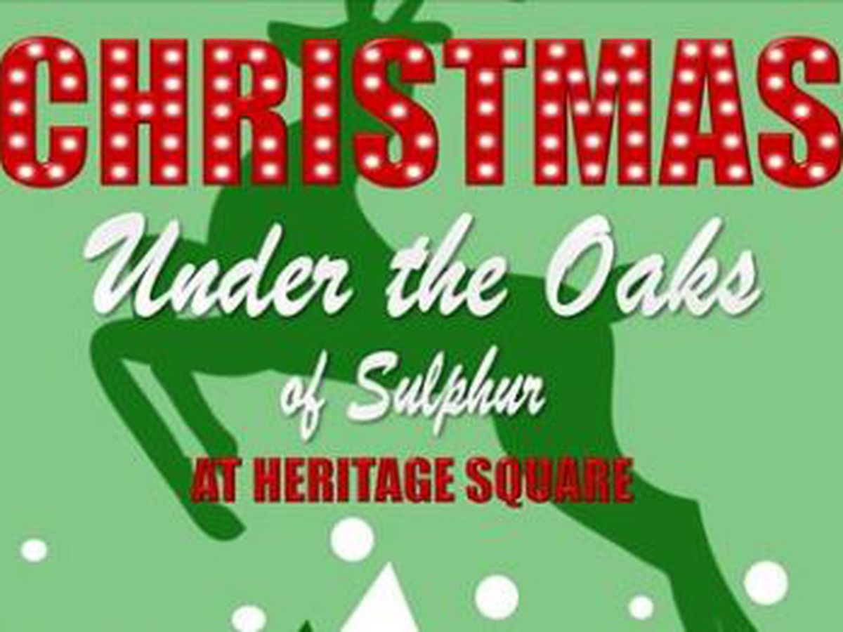 Christmas Under the Oaks Friday, Saturday in Sulphur