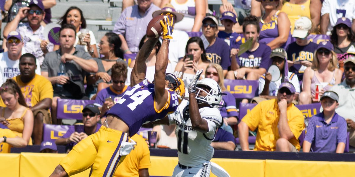 LSU cornerback only freshman semifinalist for Bednarik Award