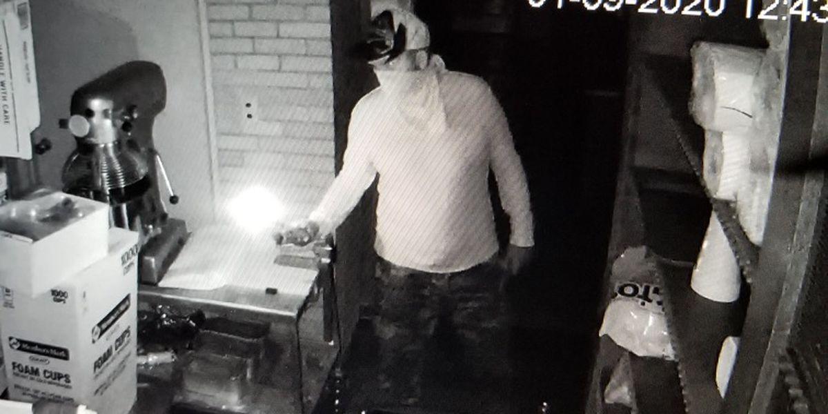 Jeff Davis authorities searching for suspected church burglar