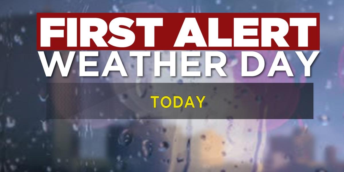 First Alert Forecast: Thunderstorm Watch across SWLA