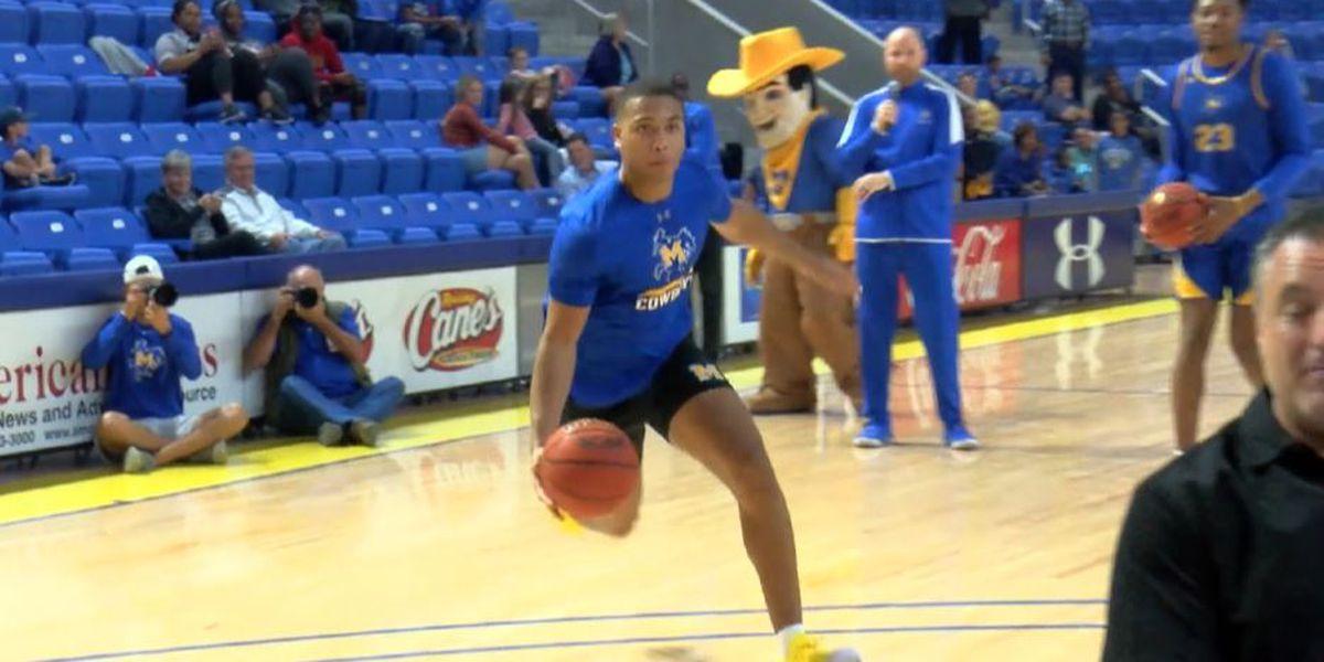 Pokes kick off basketball season with McNeese Madness