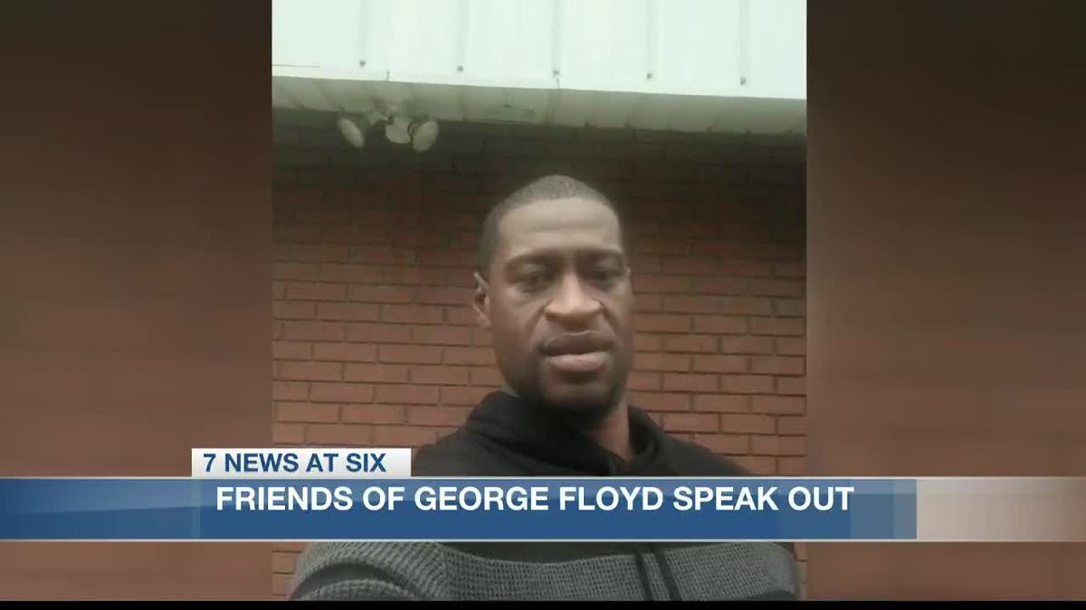 Lake Charles residents and friends of George Floyd speak out