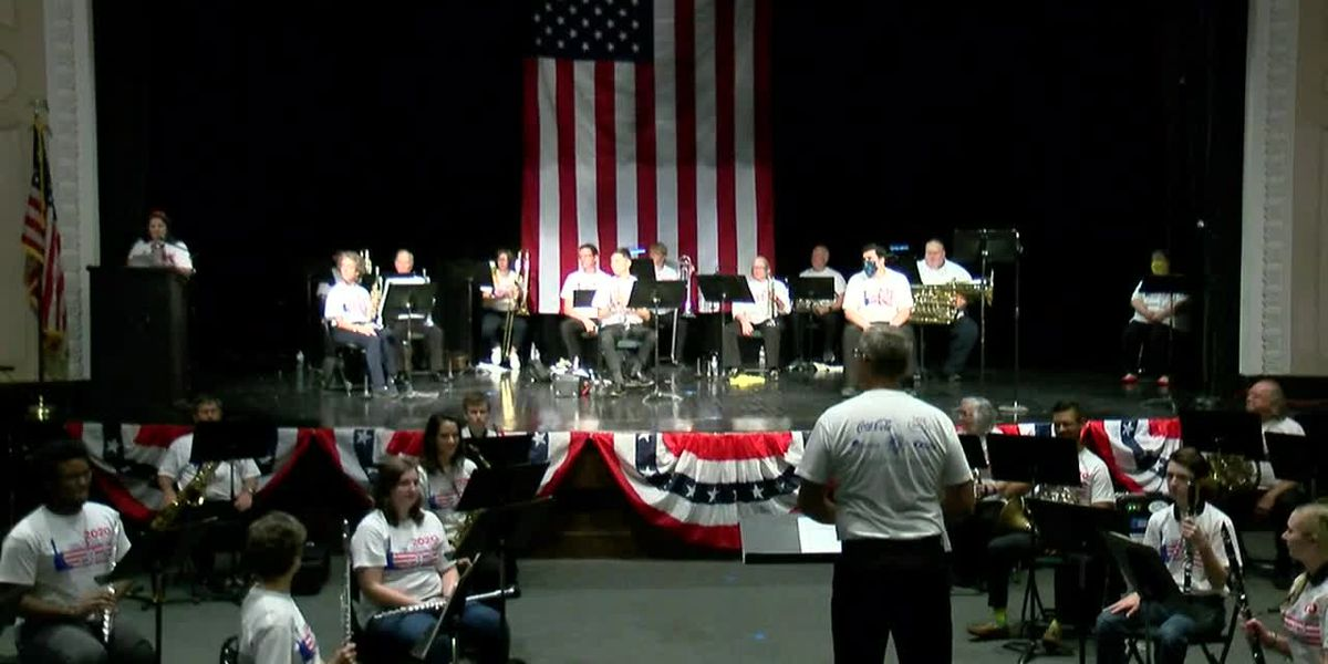 RED, WHITE, BLUE & YOU: Community Band and Salute to the Armed Forces