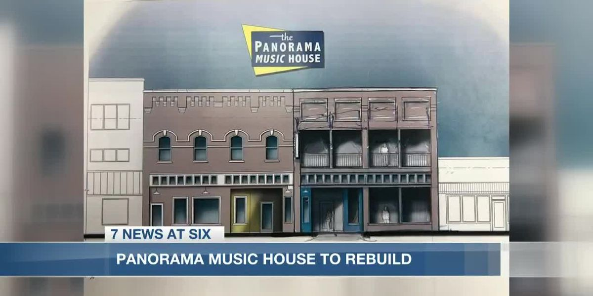 Panorama Music House discusses plans to rebuild