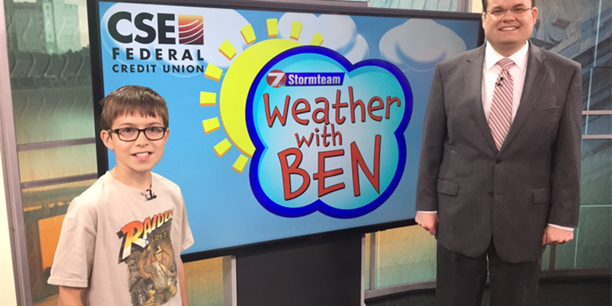 WEATHER WITH BEN: Reese