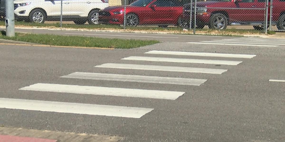 Pedestrian crosswalk laws
